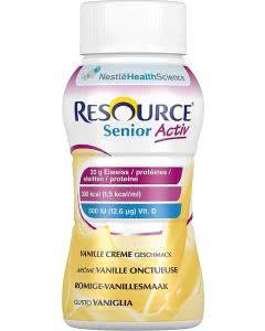 Nestle Resource SeniorActiv Vanille - 4 x 200ml