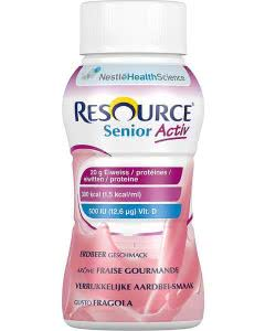 Nestle Resource SeniorActiv Erdbeer - 4 x 200ml