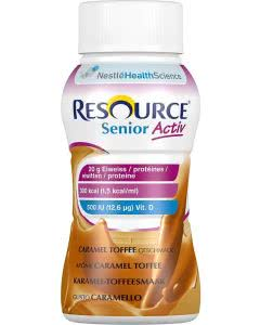 Nestle Resource SeniorActiv Caramel-Toffee - 4 x 200ml