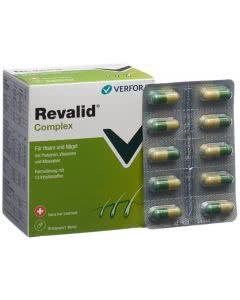 Revalid N Komplex - für Haare und Nägel - 90 Kapseln