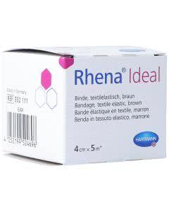 Rhena Ideal Elastische Binde hautfarben 4cm x 5m