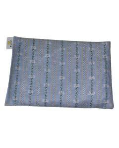 Traubenkern-Säckli klein für Kinder - Urchig blau - 16x21cm