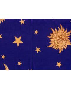 Traubenkern-Kissen Säckli - Sterne-Mond