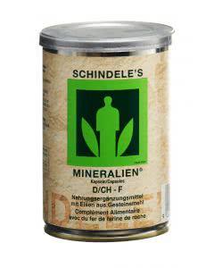 Schindele's Mineralienpulver Kapseln - 250 Stk.