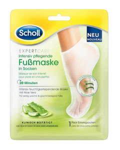 Scholl Intensiv pflegende Fussmaske Aloe Vera - 1 Paar