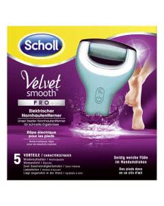 Scholl Velvet Smooth PRO - WET & DRY elektrischer Hornhaut-Entferner - wiederaufladbar
