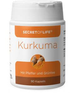 Secret of Life - Kurkuma - 90 Stk.