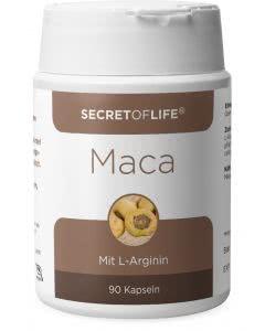 Secret of Life - Maca mit L-Arginin - Dose mit 90 Stk.