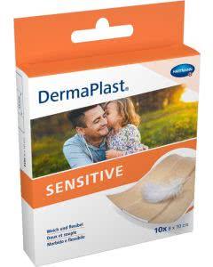 DermaPlast Sensitive Schnellverband - 8x10cm - 10 Stk.