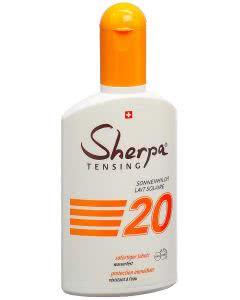 Sherpa Tensing Sonnenmilch - SPF 20 - 175ml