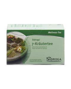 Sidroga Wellness 7-Kräuter-Tee - 20 Filterbeutel