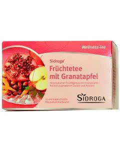 Sidroga Wellness Früchte-Tee mit Granatapfel - 20 Filterbeutel