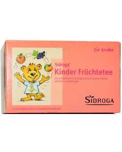 Sidroga Kinder Früchtetee - 20 Filterbeutel