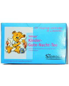 Sidroga Kinder-Gute-Nacht-Tee - 20 Filterbeutel