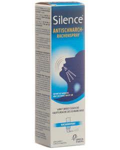 Silence -Totales Anti Schnarchmittel - für ein Monat - 50ml