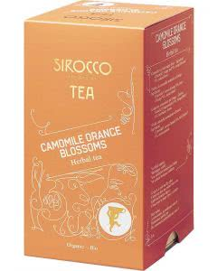 Sirocco Camomile Orange Blossoms Tee - 20 Stk.