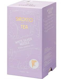 Sirocco White Silver Needle Tee - 20 Stk.