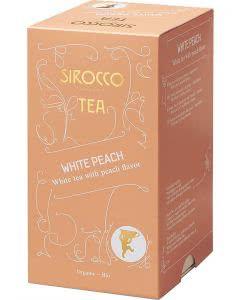 Sirocco White Peach Tee - 20 Stk.