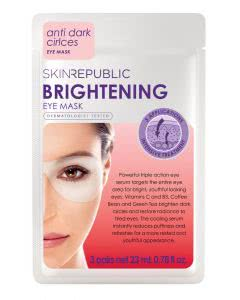 Skin Republic Brightening Eye Mask - 3 Paar