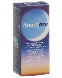 Snoreeze Anti-Schnarch Rachenspray für ca. 50 Nächte - 23.5ml