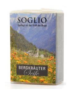 Soglio Bergkräuter-Seife - 95 g