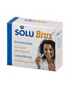 Solubrux (früher: FIXAplus) Zähneknirschen (Bruxismus) Schiene