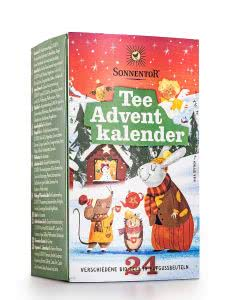Sonnentor Tee Adventkalender mit 24 verschiedenen Teesorten - 24 Beutel