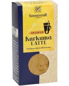 Sonnentor Kurkuma Latte Ingwer Beutel - 60g