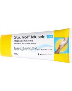 Soufrol Muscle Magnesium Cool Crème - 120ml