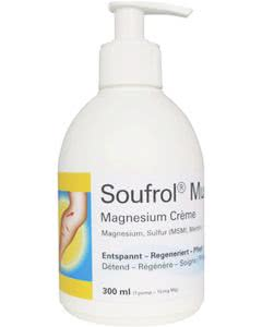 Soufrol Muscle Magnesium COOL Crème im Dispenser - 300ml