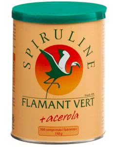 Spirulina Flamant Vert + Acerol Tabletten 500mg - 1000 Stk.