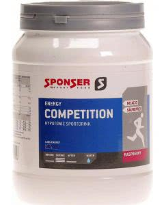 Sponser Energy Competition Raspberry - 1000 g