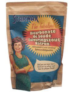 Starwax the fabulous Natron in Lebensmittelqualität - 1kg
