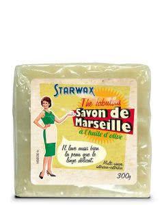 Starwax the fabulous Marseilleseife Olivenöl - 300g