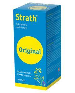 Strath Tabletten aus Kräuterhefe - 200 Stk.