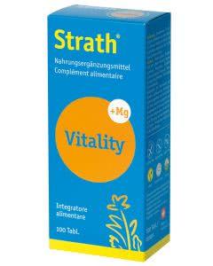 Strath Vitality + Magnesium Nahrungsergänzung - 100 Tabl.