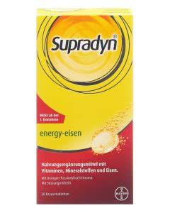 Supradyn Energy Eisen Orange-Passionsfrucht - 30 Brausetabletten
