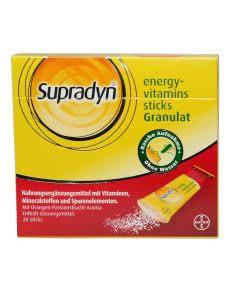 Supradyn Energy Eisen Vitamin Sticks - 20 Stk.