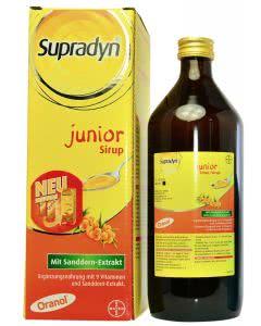 Supradyn (ehemals Oranol) Junior Sirup - 730ml