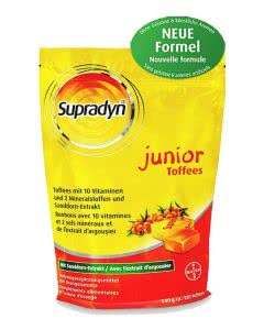 Supradyn (ehemals Oranol) Junior Toffees - SPARPACK 3x120 Stk.
