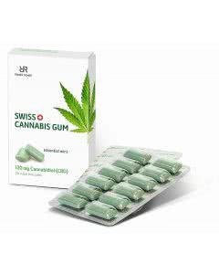 Swiss Cannabis Kaugummi Minze - 24 Stk.