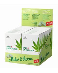 Swiss Cannabis Kaugummi Minze - Spar-BOX mit 16x24 Stk.