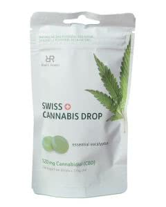 Swiss Cannabis Drop Eukalyptus - 24 Stk.
