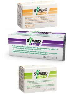 Symbio Darmkur Darmsanierung mit SymbioDETOX - SymbioLACT - SymbioINTEST - für 3 Monate