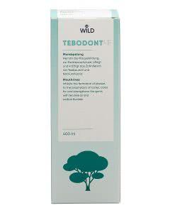Tebodont F - Mundspülung mit Teebaumoel und Fluor - 400ml