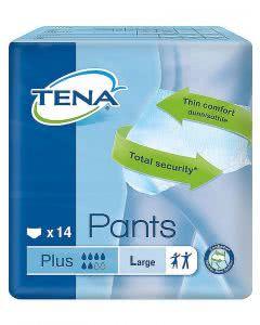 Trio-Pack: Tena Pants Plus L - 3x14 Stk.