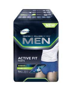 Tena MEN Active Pants Hosen Grösse L - 10 Stk.