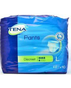 Tena PANTS Discreet Höschen bei Blasen-Inkontinenz - Grösse large 10 Stk.