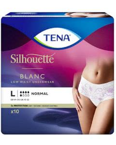 Tena Silhouette Normal L weiss - 10 Stk.