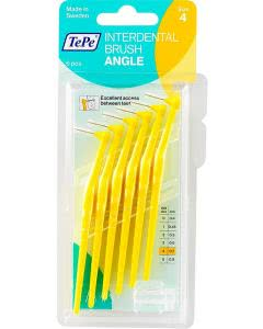 TePe Angle Interdental-Brush 0.7mm gelb - 6 Stk.